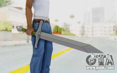 Trunks Del Futuro Katana for GTA San Andreas
