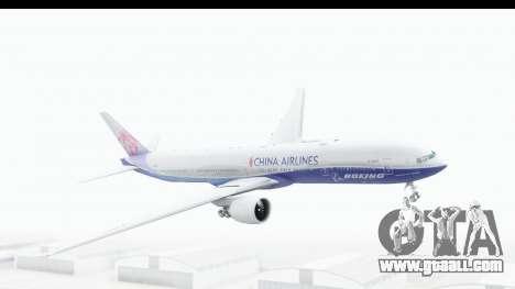 Boeing 777-300ER China Airlines Dreamliner for GTA San Andreas