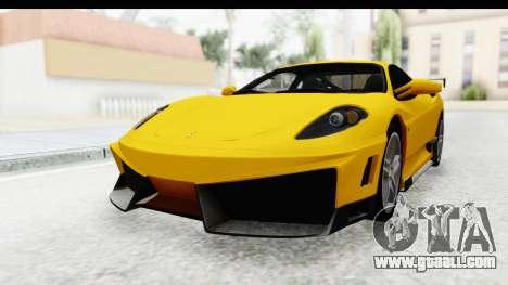 Ferrari F430 SVR for GTA San Andreas right view