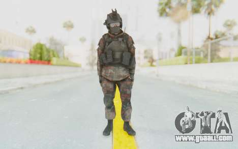 COD MW2 Russian Paratrooper v1 for GTA San Andreas second screenshot