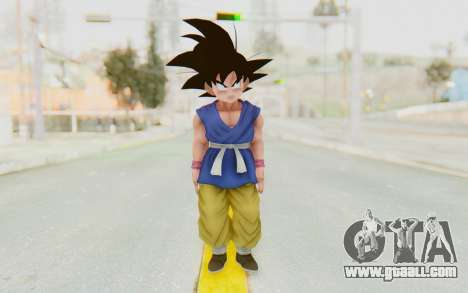 Dragon Ball Xenoverse Goku Kid GT SJ for GTA San Andreas second screenshot