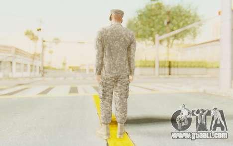 Military Casual Outfit for GTA San Andreas third screenshot