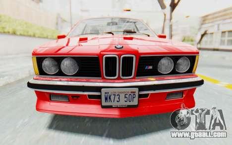 BMW M635 CSi (E24) 1984 IVF PJ2 for GTA San Andreas side view