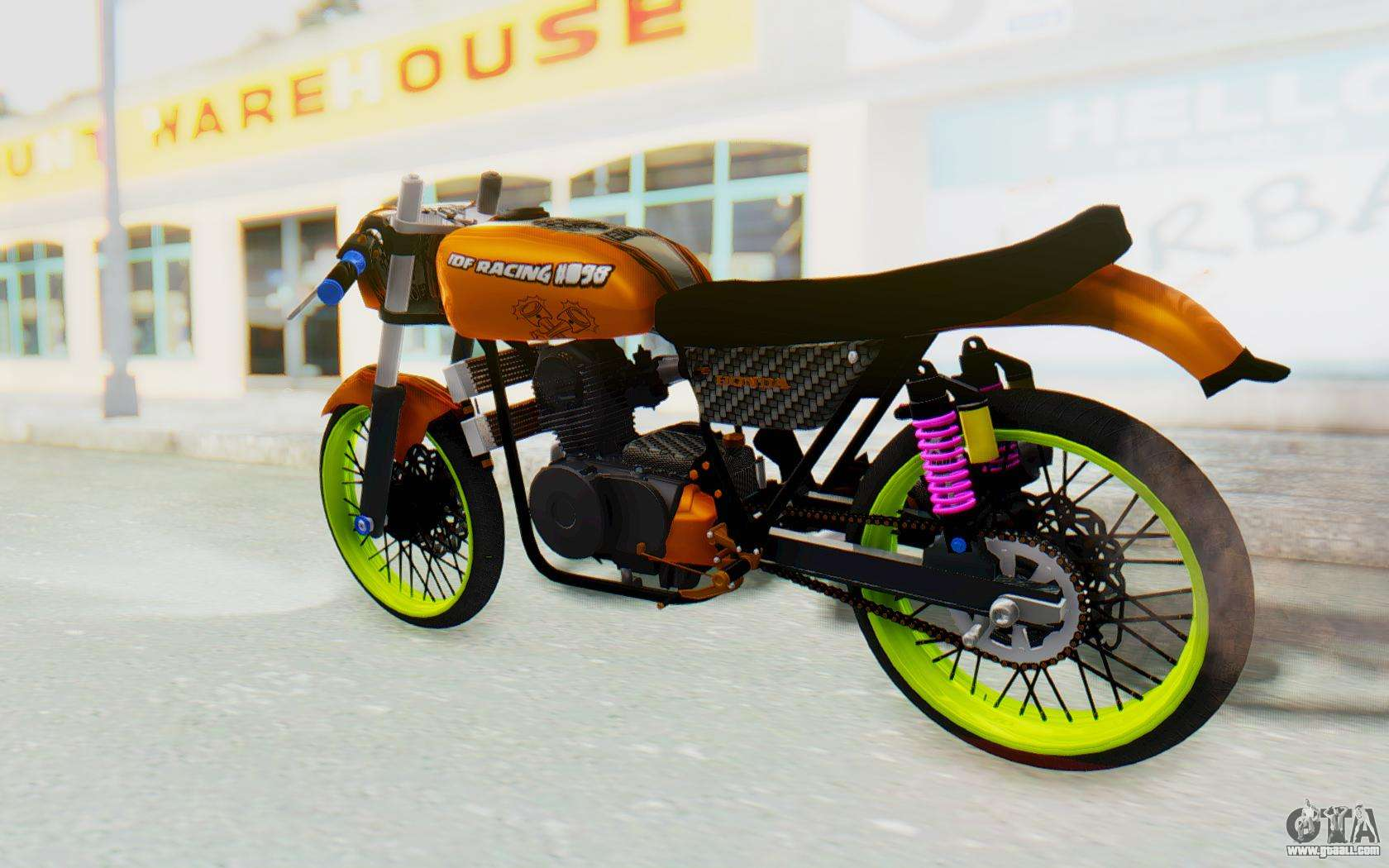 honda cg125 roadrace for gta san andreas. Black Bedroom Furniture Sets. Home Design Ideas