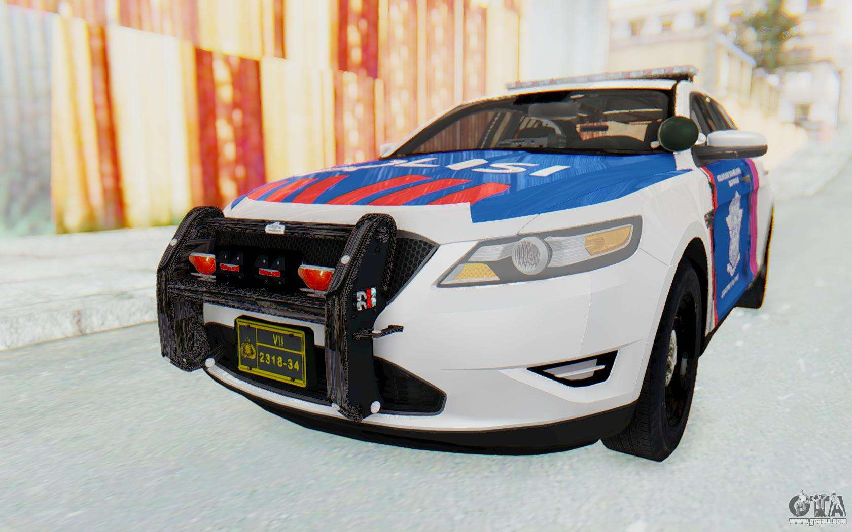 ford taurus indonesian traffic police for gta san andreas. Black Bedroom Furniture Sets. Home Design Ideas