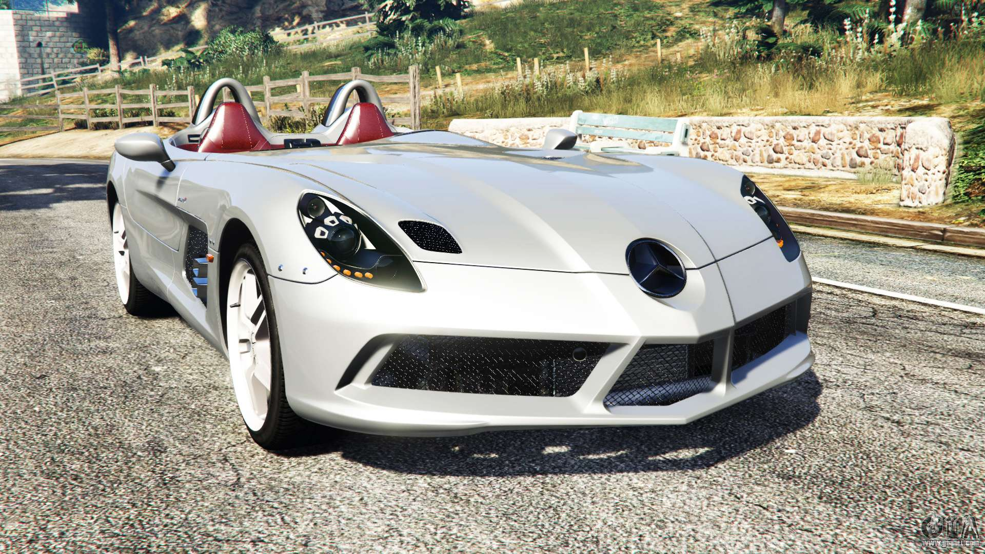 mercedes benz slr mclaren 2009 for gta 5. Black Bedroom Furniture Sets. Home Design Ideas