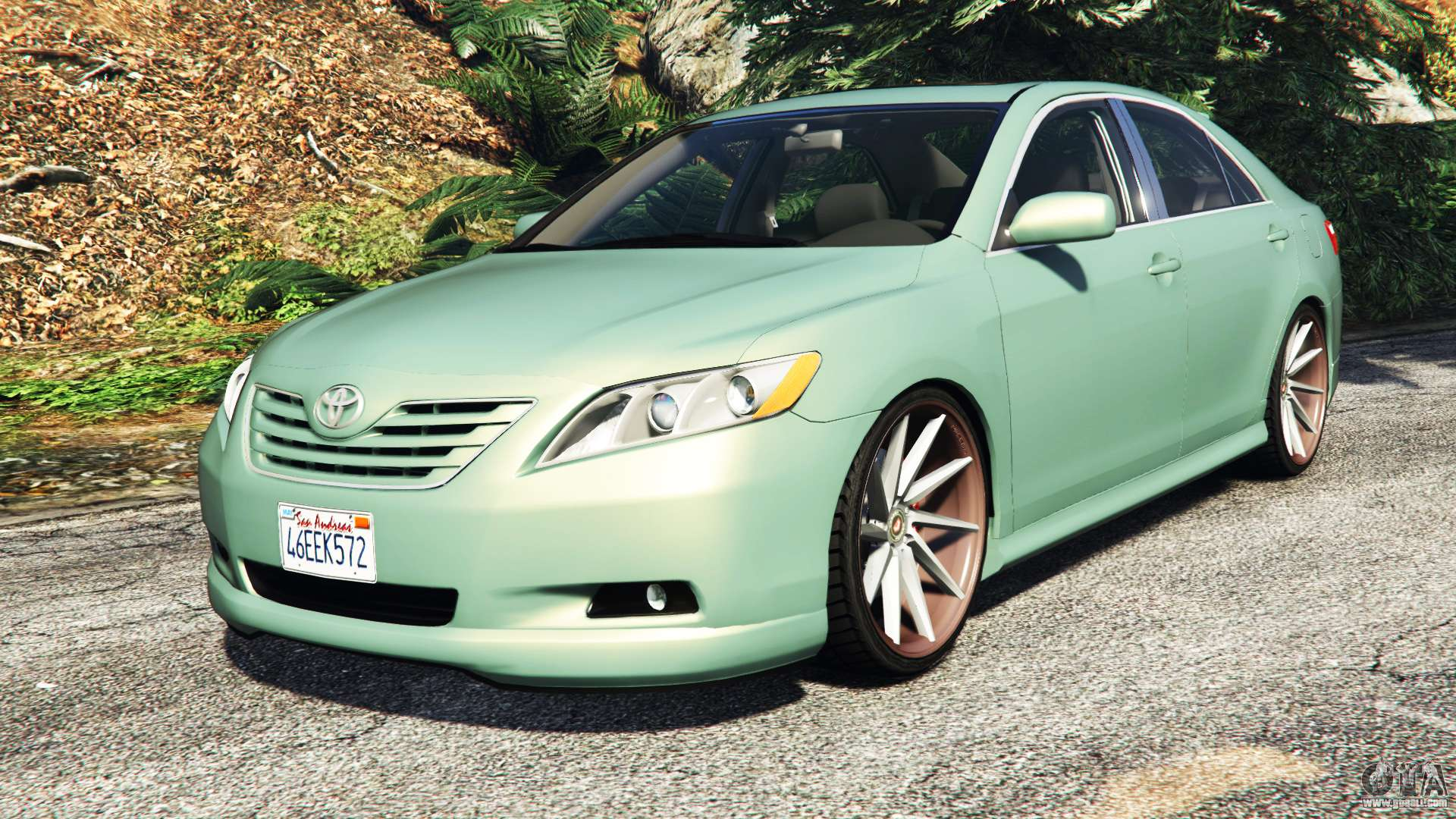 Toyota Camry V40 2008 Tuning For Gta 5