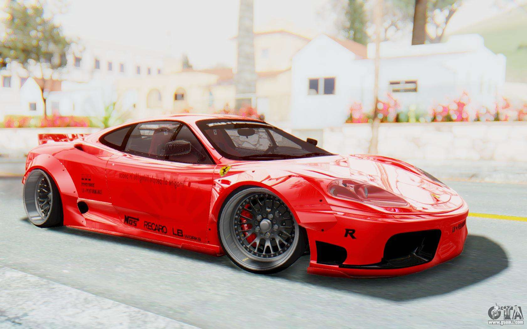 ferrari 360 modena liberty walk lb perfomance v2 for gta. Black Bedroom Furniture Sets. Home Design Ideas