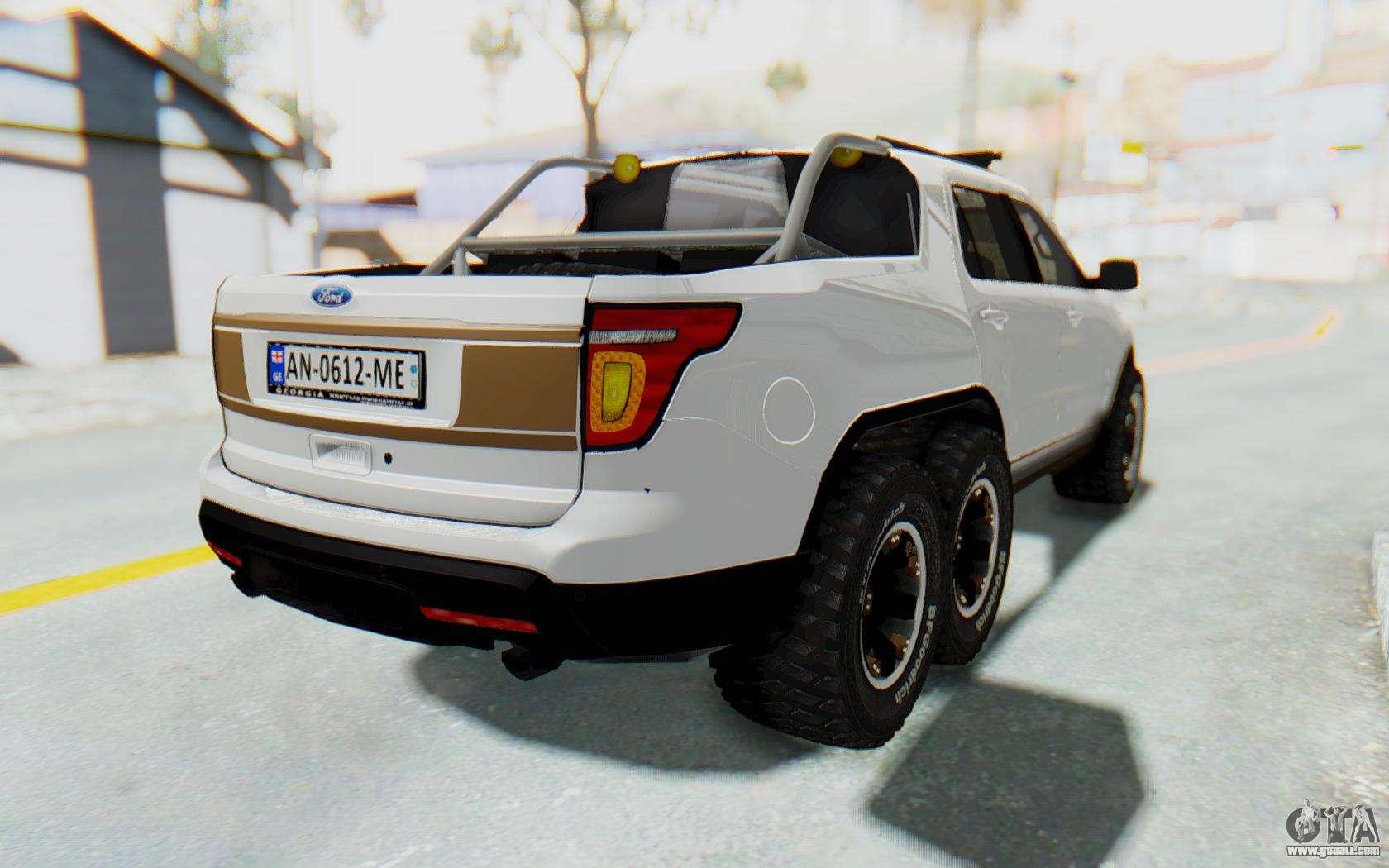 Ford Explorer Pickup For Gta San Andreas