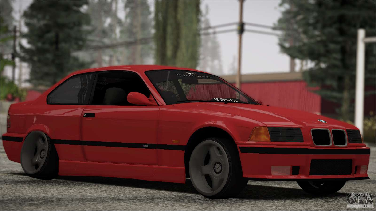 Bmw E36 Stance For Gta San Andreas