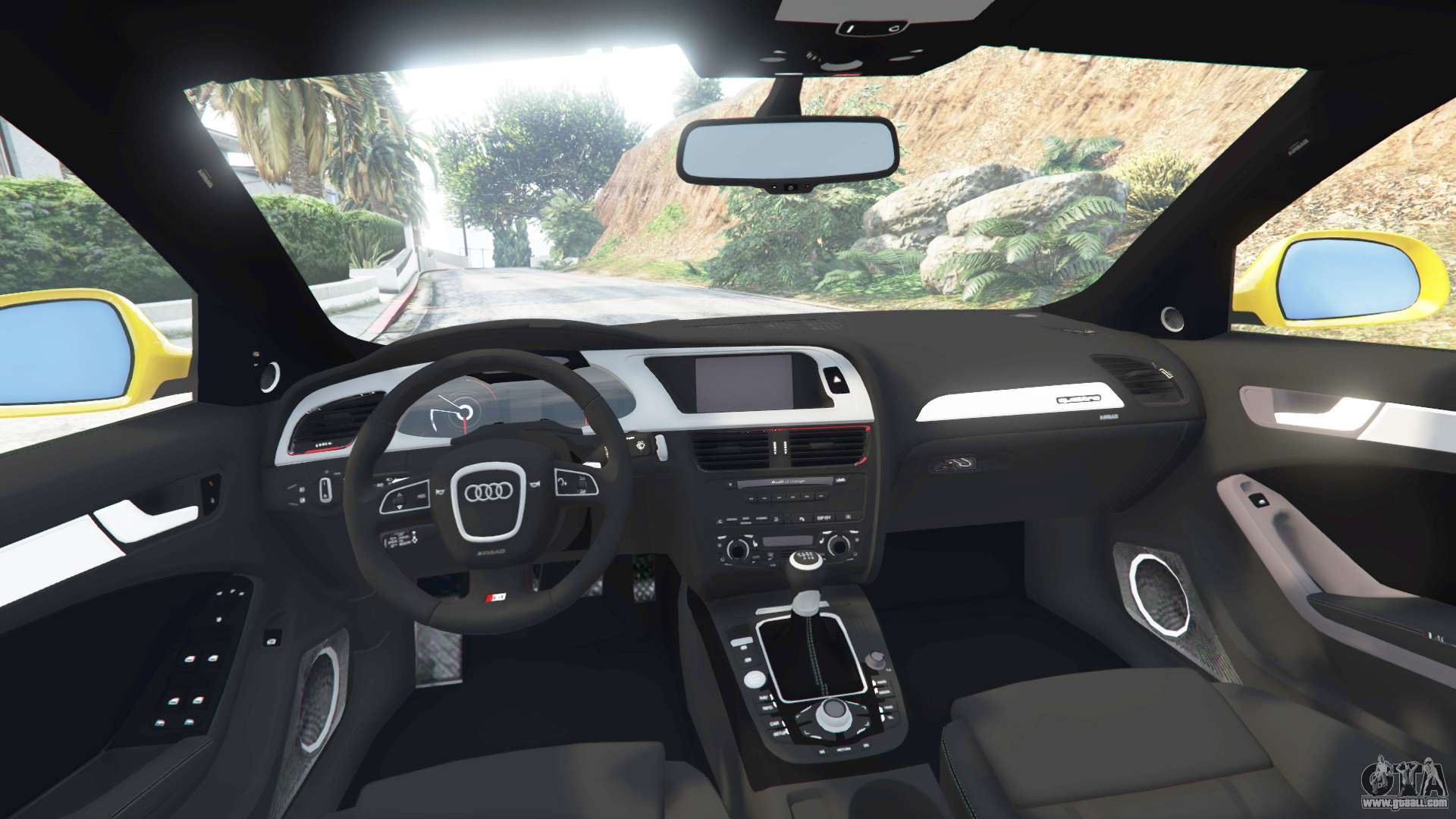 Gta 5 audi a4 2009 front right side view
