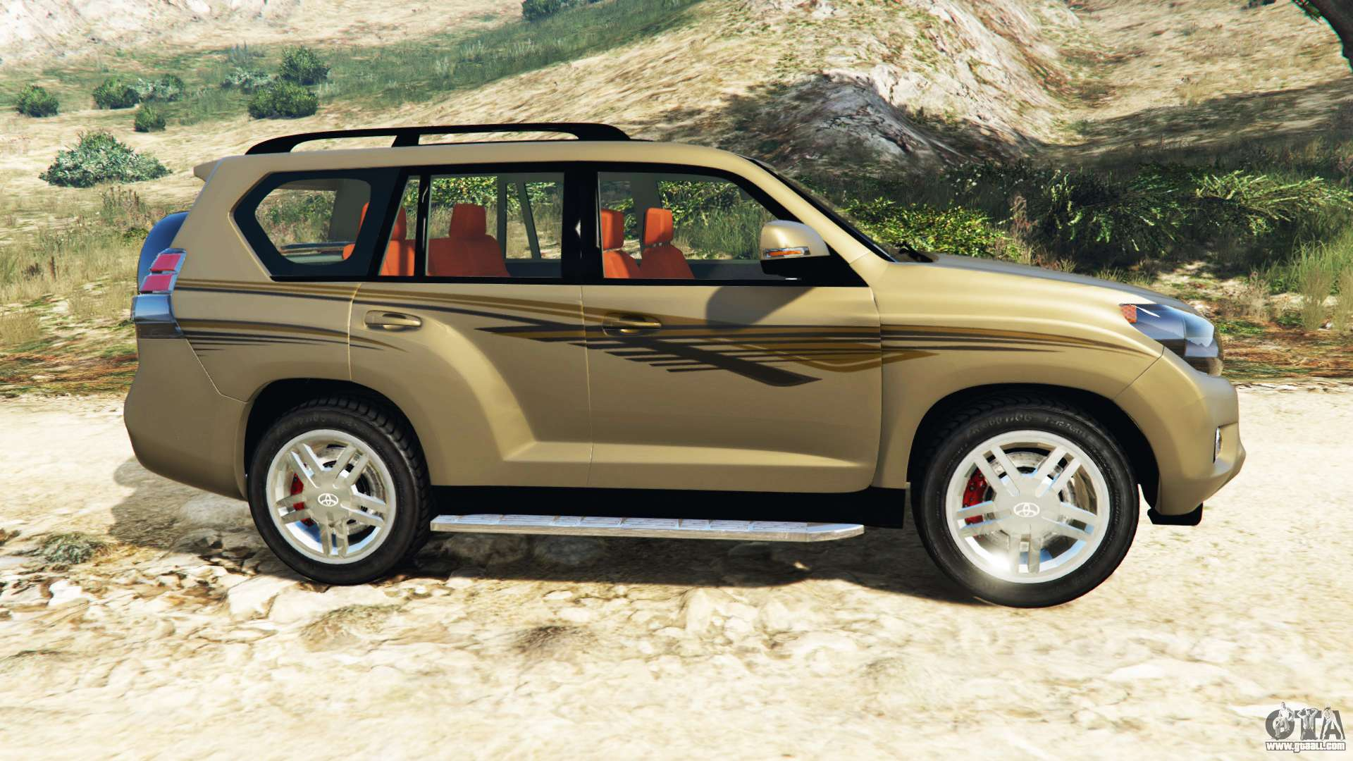 toyota land cruiser prado 2012 for gta 5. Black Bedroom Furniture Sets. Home Design Ideas