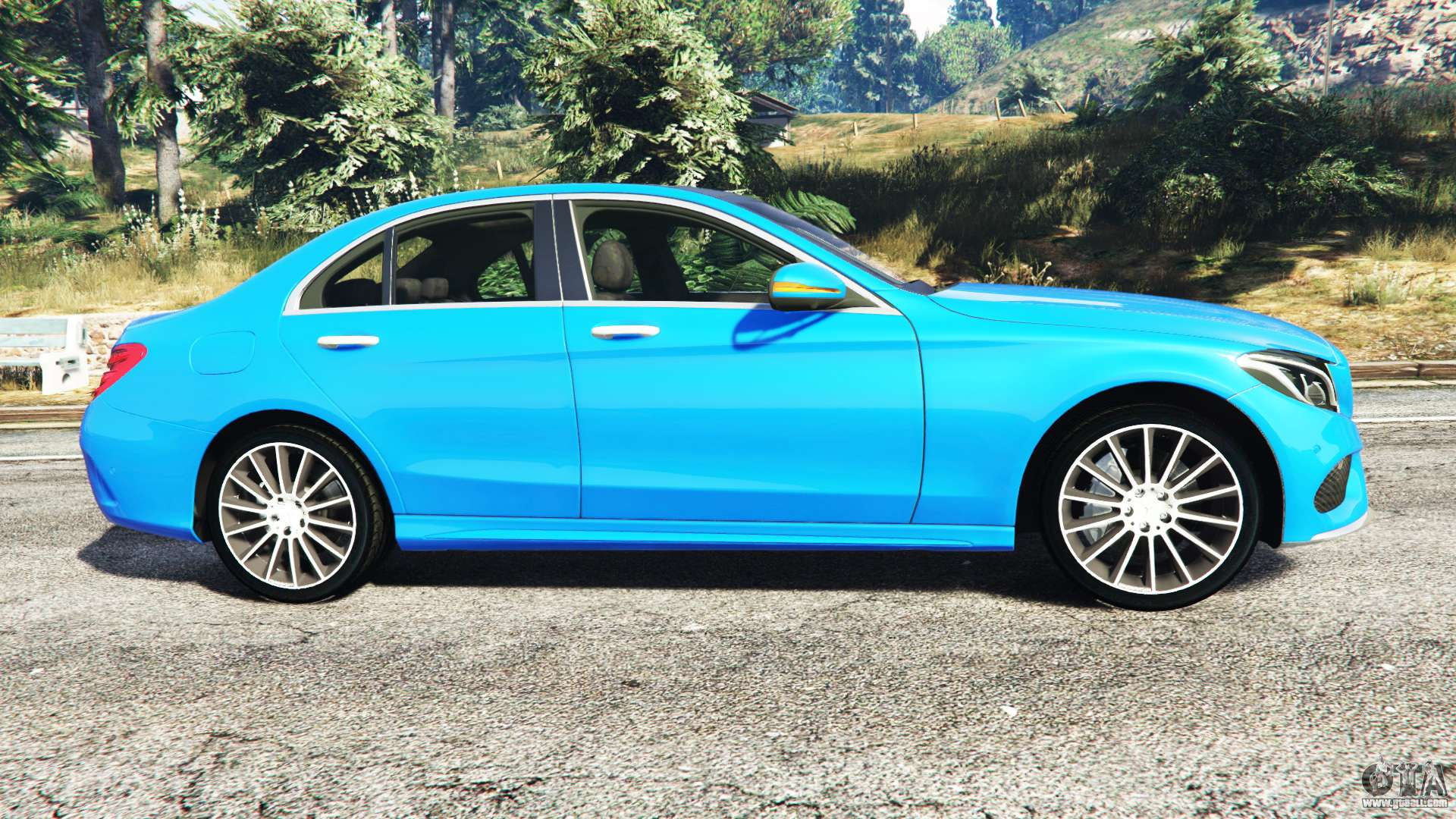 mercedes benz c250 2014 for gta 5. Black Bedroom Furniture Sets. Home Design Ideas