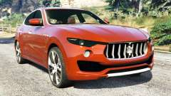 Maserati Levante 2017 for GTA 5