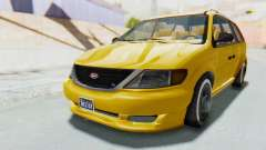 GTA 5 Vapid Minivan Custom IVF