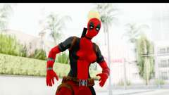 Marvel Heroes - Lady Deadpool for GTA San Andreas