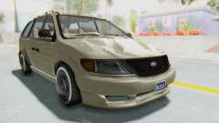 GTA 5 Vapid Minivan Custom without Hydro IVF