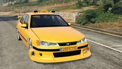 Taxi Peugeot 406 for GTA 5