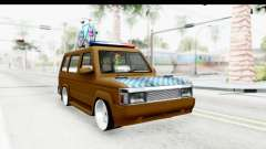 Toyota Kijang Grand Extra with Bike