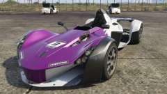 The BAC Mono (New model) for GTA 5