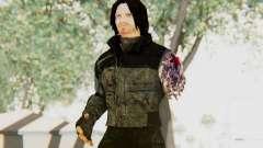 Bucky Barnes (Winter Soldier) v2 for GTA San Andreas