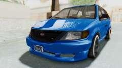 GTA 5 Vapid Minivan Custom