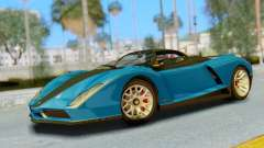 GTA 5 Grotti Cheetah SA Lights for GTA San Andreas