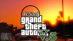 GTA V RE-Sized V5.5 ( Stable )