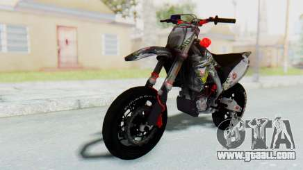 Kawasaki KX125 Supermoto v2 High Modif for GTA San Andreas