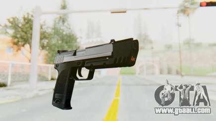 HK USP 45 Chrome for GTA San Andreas