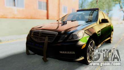 Mercedes-Benz E63 German Police Green for GTA San Andreas
