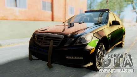 Mercedes-Benz E63 German Police Green for GTA San Andreas