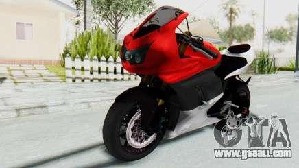 Kawasaki Ninja 250R Superbike for GTA San Andreas