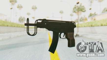 VZ-61 Skorpion Fold Stock for GTA San Andreas