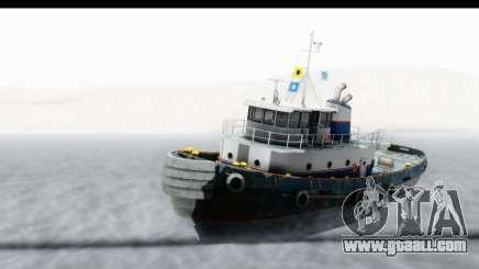 GTA 5 Buckingham Tug Boat v2 IVF for GTA San Andreas