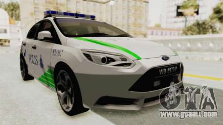Ford Focus ST 2013 PDRM for GTA San Andreas