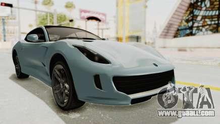 GTA 5 Grotti Bestia GTS v2 SA Lights for GTA San Andreas