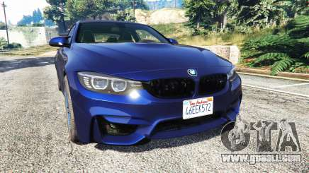 BMW M4 2015 v0.01 for GTA 5