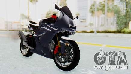 Kawasaki Ninja 250R Streetrace v2 for GTA San Andreas
