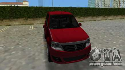 Renault Logan for GTA Vice City