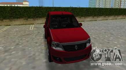 Renault Logan for GTA Vice City