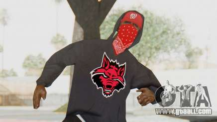 TheWOLF Skin for GTA San Andreas