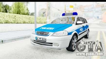 Opel Astra G Variant Polizei Hessen for GTA San Andreas