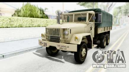 AM General M35A2 Sand for GTA San Andreas