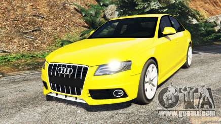 Audi A4 2009 for GTA 5