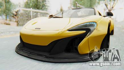 McLaren 650S Spyder ZenWorks for GTA San Andreas