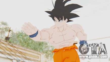 Dragon Ball Xenoverse Goku Shirtless SJ for GTA San Andreas