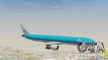 Boeing 777-300ER KLM - Royal Dutch Airlines v3 for GTA San Andreas