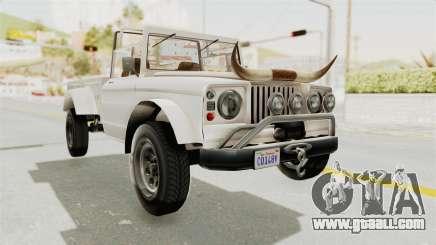 GTA 5 Canis Bodhi for GTA San Andreas