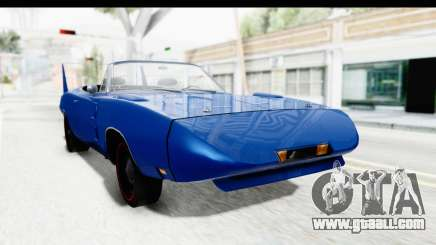 Dodge Charger Daytona 1969 Cabrio for GTA San Andreas